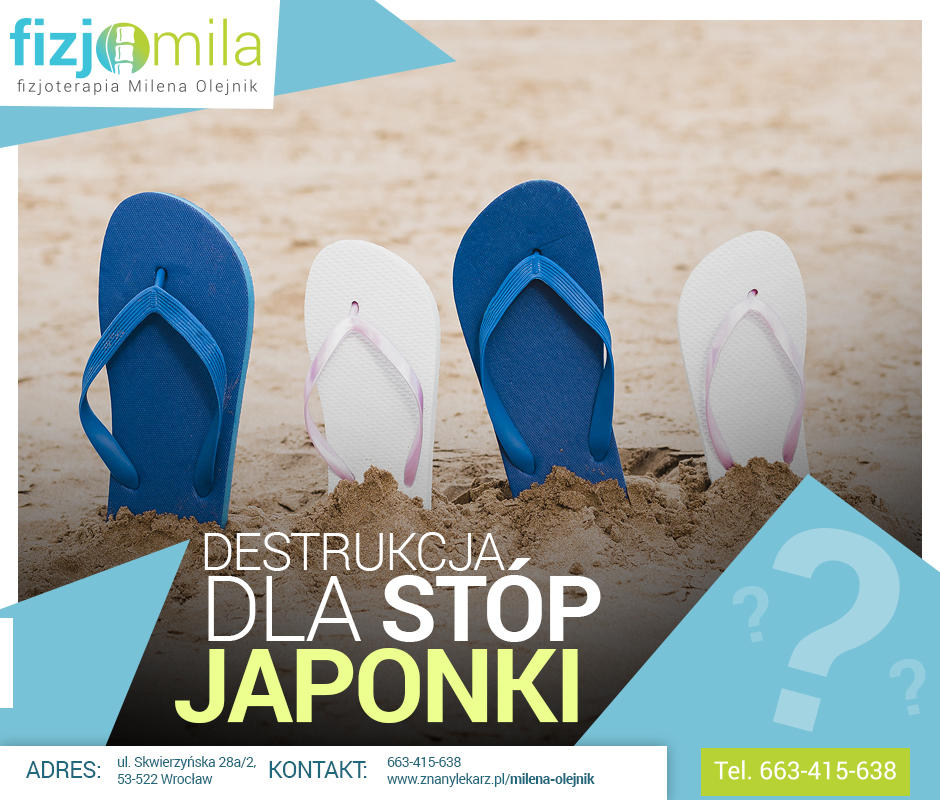 Japonki – destrukcja dla stóp